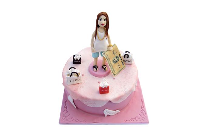 עוגה לחולת קניות