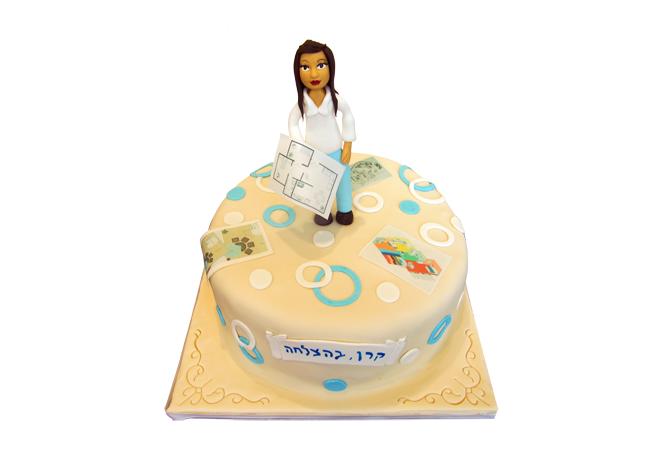 עוגה למעצבת