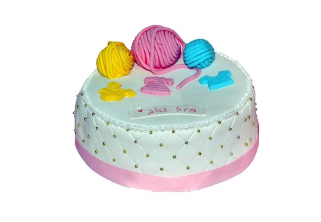 עוגה לסבתא סורגת