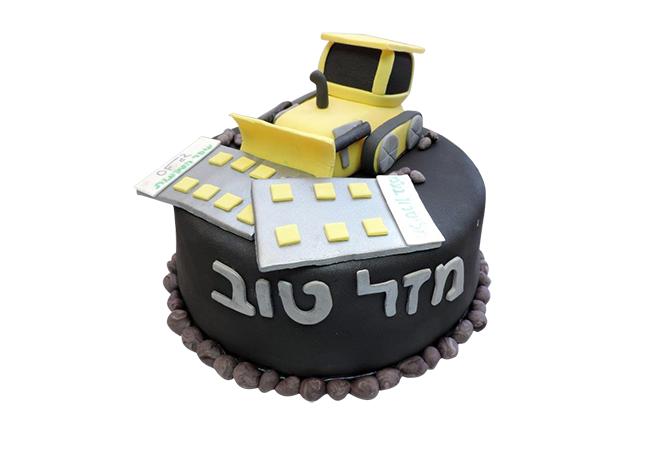 עוגה לקבלן
