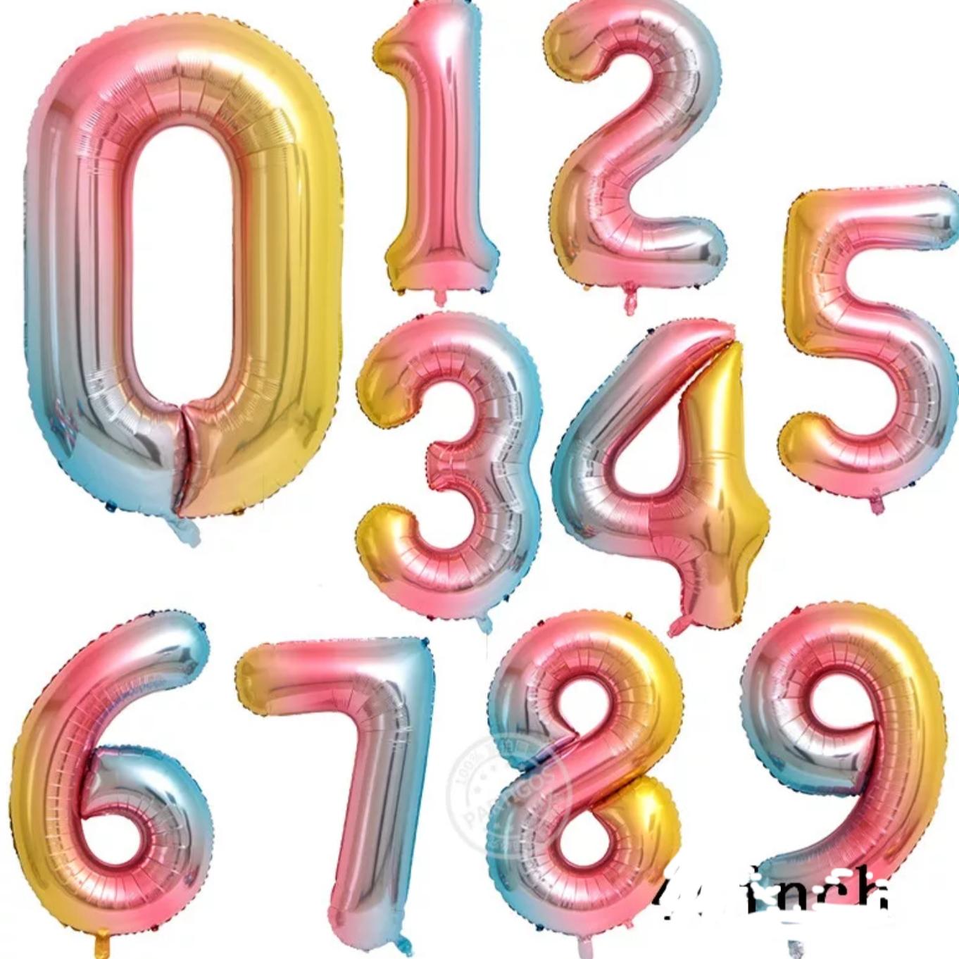 מספרים צבעוניים