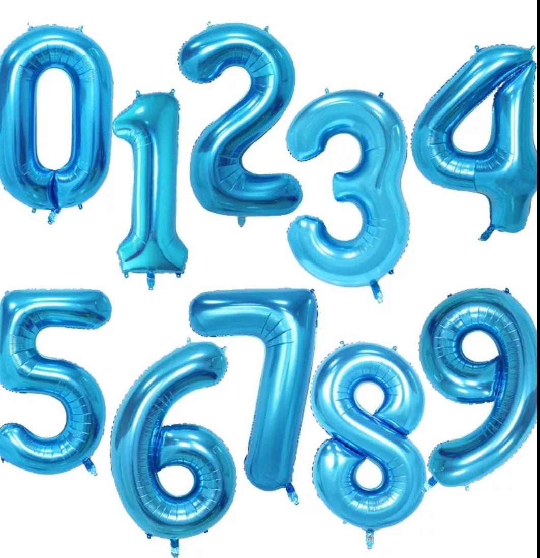 מספרי כחול